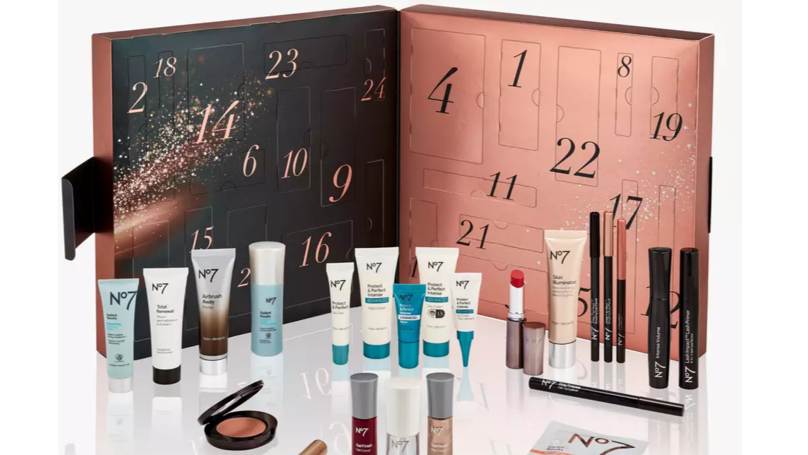 Boots Releases No7 Advent Calendar Worth £177 For Just £42
