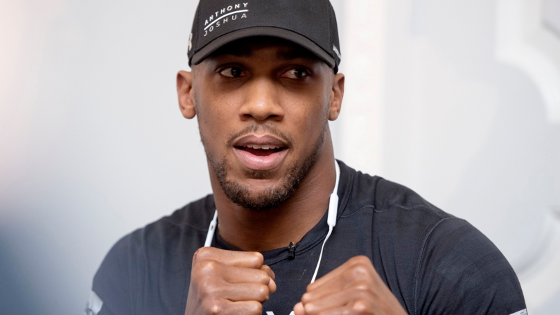 Anthony Joshua Raises Possibility Of Fighting In The UFC One Day