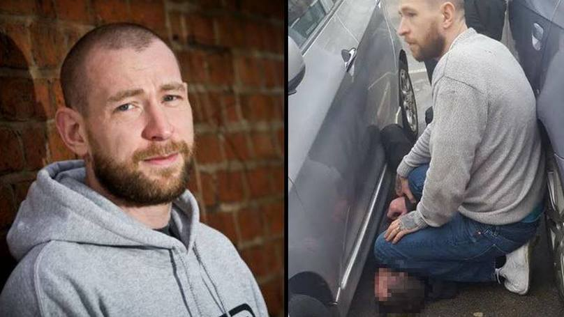 Brave Lad Takes Down Knife-Wielding Stranger Who Threatened To Stab A Mum In A Car Park
