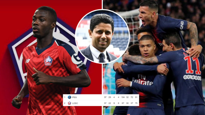 PSG Want Ligue 1 Second Place Lille To Be Their Feeder Club