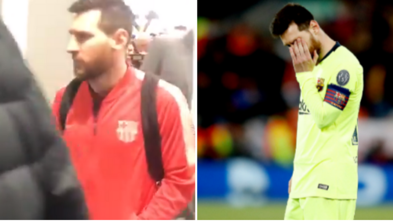 What Lionel Messi Said To Fans Who Confronted Him At Airport After Liverpool Loss
