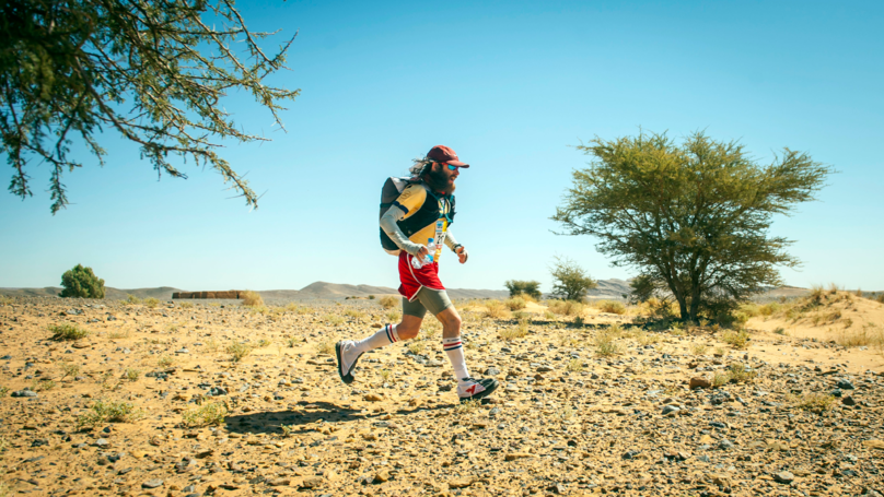 Real-Life Forrest Gump Finishes The 'Hardest Marathon In The World'