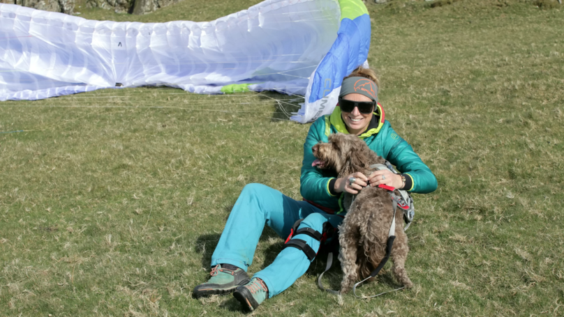 This Paragliding Dog Takes To The Skies With His Owners