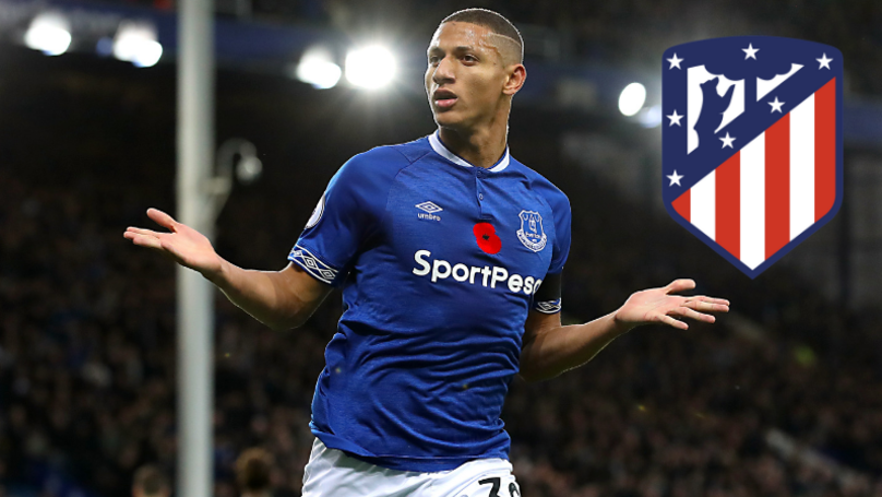 Atletico Madrid Reportedly Eyeing Up Move For Everton Forward Richarlison