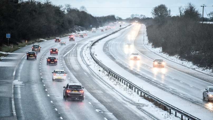 Met Office Predicts Heavy Snow Across The UK With Yellow Weather Warning