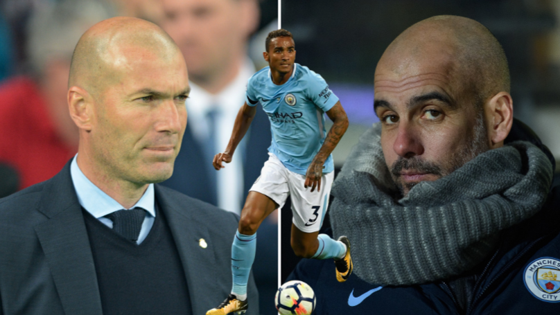 Danilo Explains The Difference Between Pep Guardiola And Zinedine Zidane