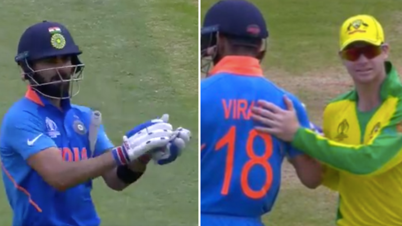 Virat Kohli Tells Indian Fans To Stop Abusing Steve Smith In Amazing Gesture