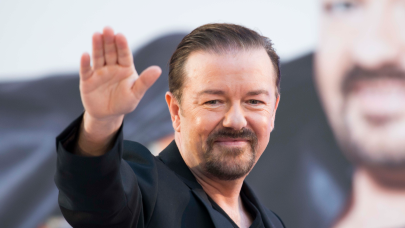 Savage Ricky Gervais Trolls Flat Earthers With One Brutal Tweet