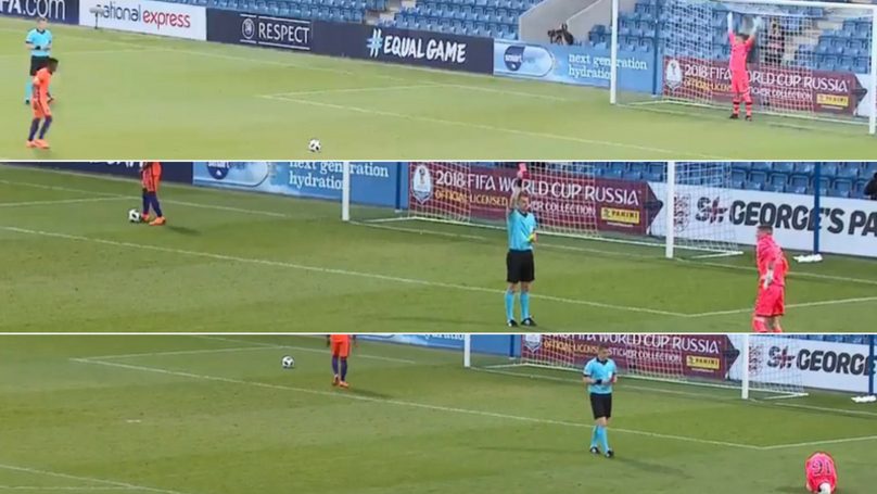 Ireland Under 17 Goalkeeper Sent Off In Penalty Shoot Out