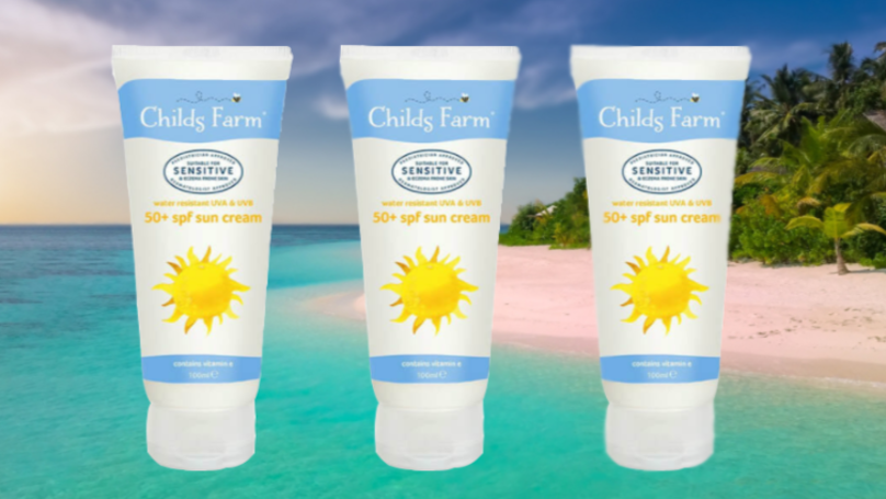 Childs Farm Has Launched A New Sun Cream For Eczema Sufferers