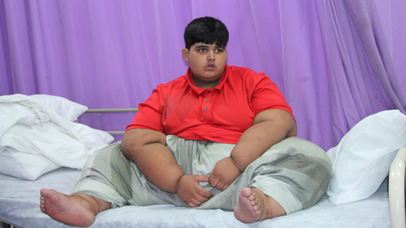 World's Heaviest Boy Weighs 31 Stone And Needs Life-Saving Surgery