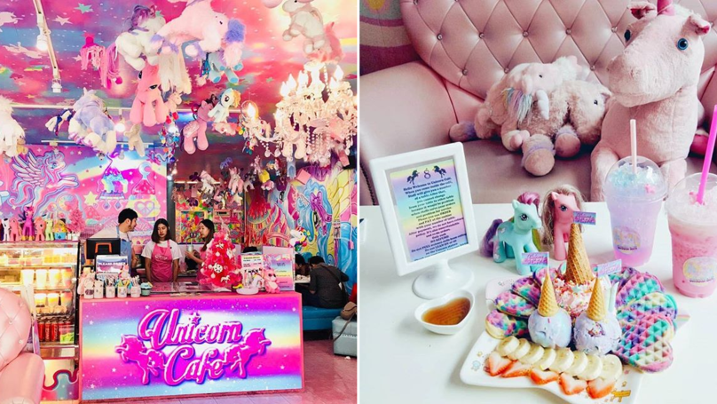 There's A Magical Unicorn Café in Bangkok And It's The Dreamiest Place Ever