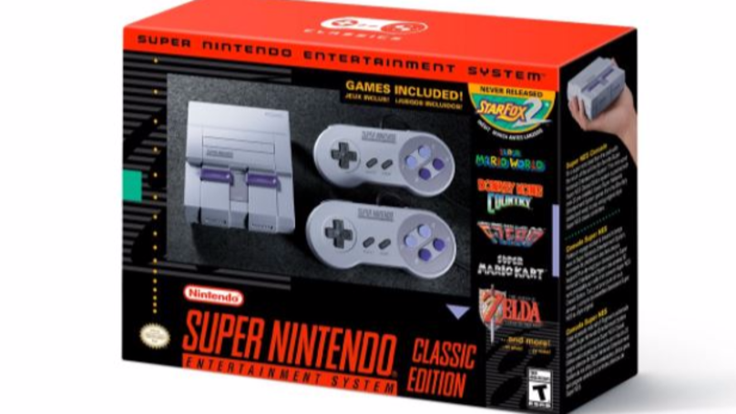 Prepare To Get Very Excited As The SNES Is Coming Back