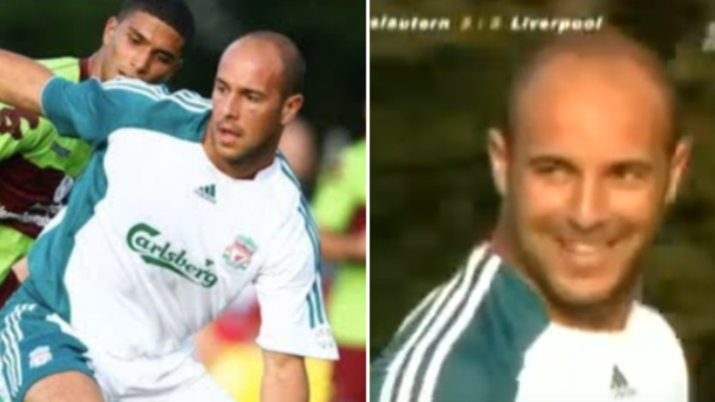 Pepe Reina Once Played As A Midfielder For Liverpool