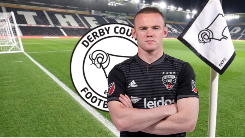 Wayne Rooney In Talks With Derby County Over A Player-Coach Role