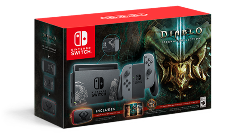 ​Diablo 3 Themed Nintendo Switch Releases Next Month, It's A Beauty