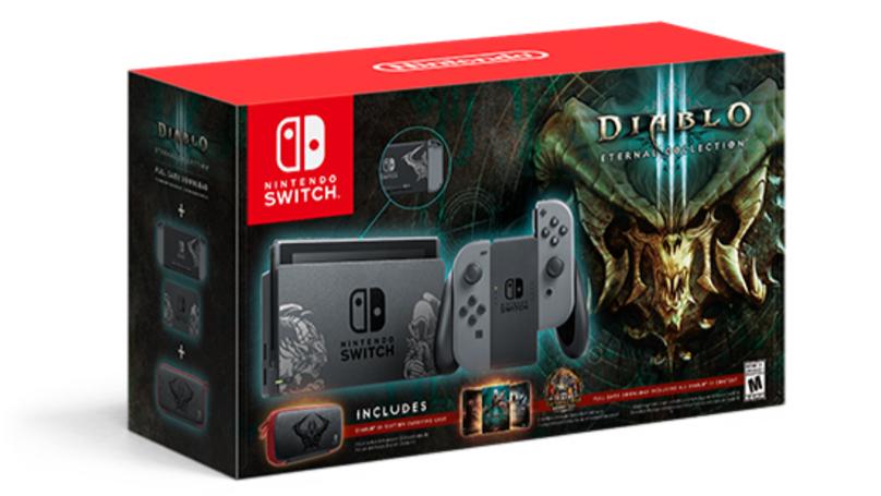 Diablo 3 Themed Nintendo Switch Releases Next Month, It's A Beauty