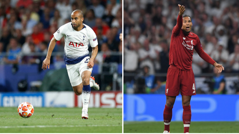 Lucas Moura Doesn't Believe No-One Dribbled Past Virgil Van Dijk Last Season