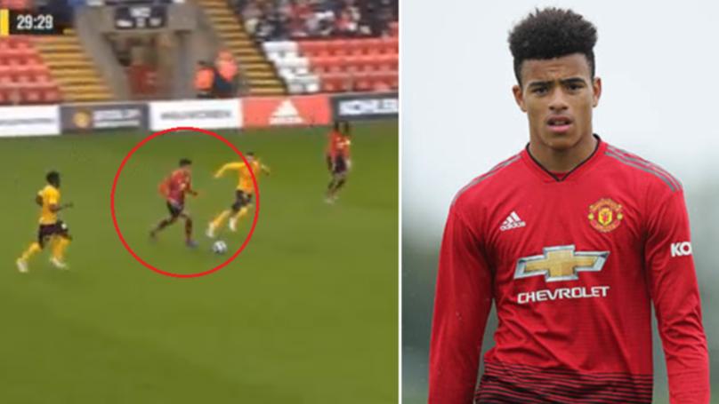 Manchester United's Mason Greenwood 'Unplayable' Against Young Boys, Scores Stunning Goal