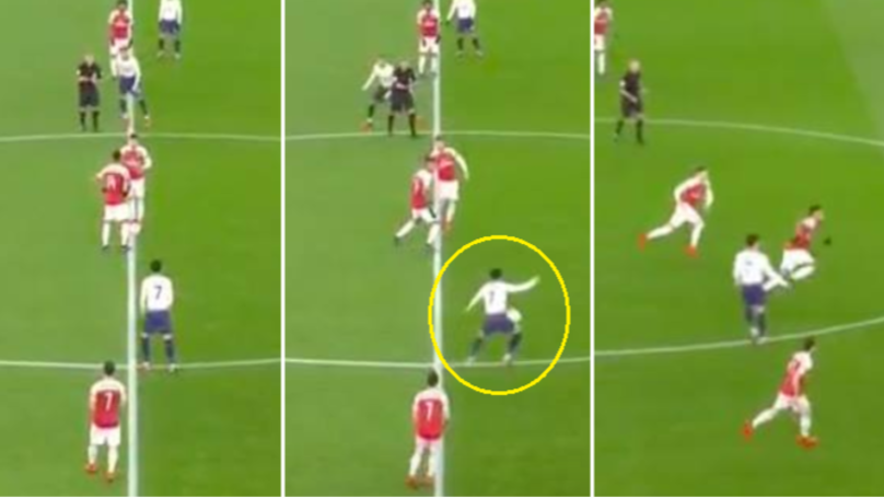You May Have Missed Aaron Ramsey's Awful Kick-Off Vs. Spurs