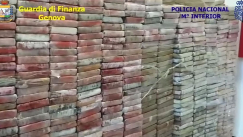 Italian Police Seize The Country's Largest Shipment Of Cocaine In 25 Years