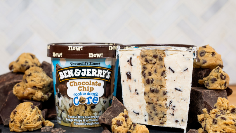 Ben & Jerry's Is Launching Three New Flavours Of Cookie Dough Core Ice Cream