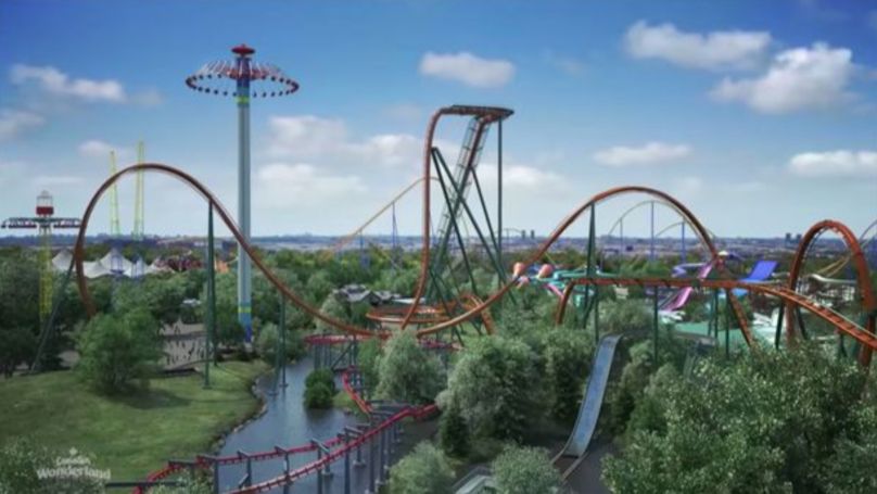 World's Tallest, Longest And Fastest Rollercoaster To Open This Spring