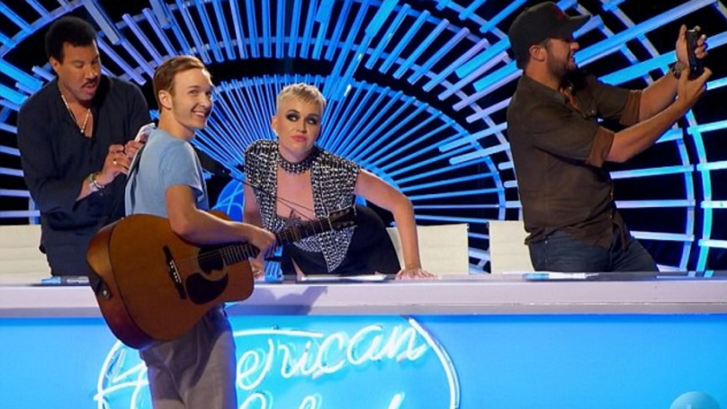 Katy Perry Kissed An American Idol Contestant, But He Didn't Like It