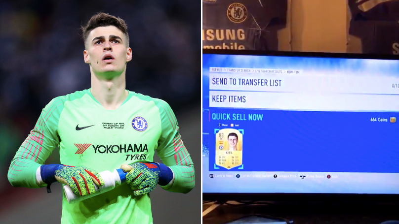 Chelsea Fans Are Discarding Kepa On FIFA Ultimate Team