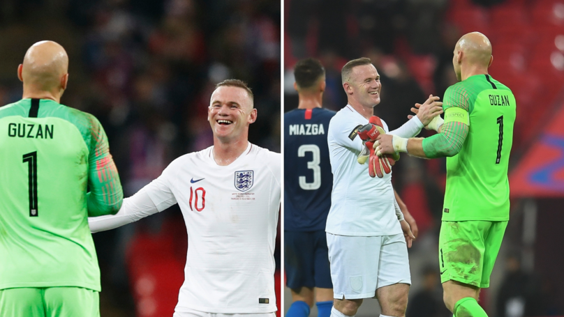 What Brad Guzan Told USA Defenders When Wayne Rooney Came On For England