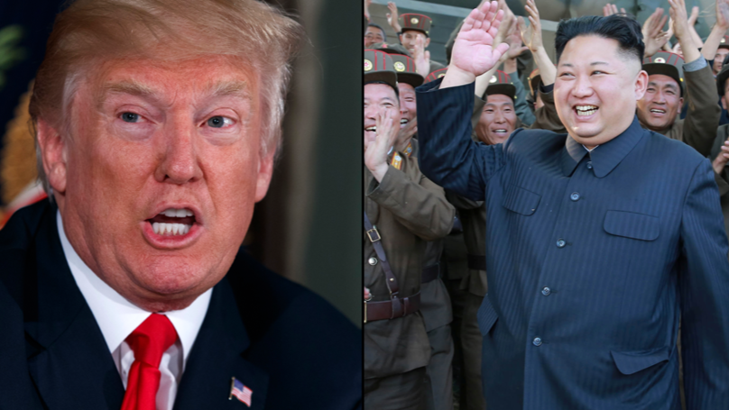 Donald Trump Threatens 'Fire And Fury' Against North Korea After Successful Missile Test
