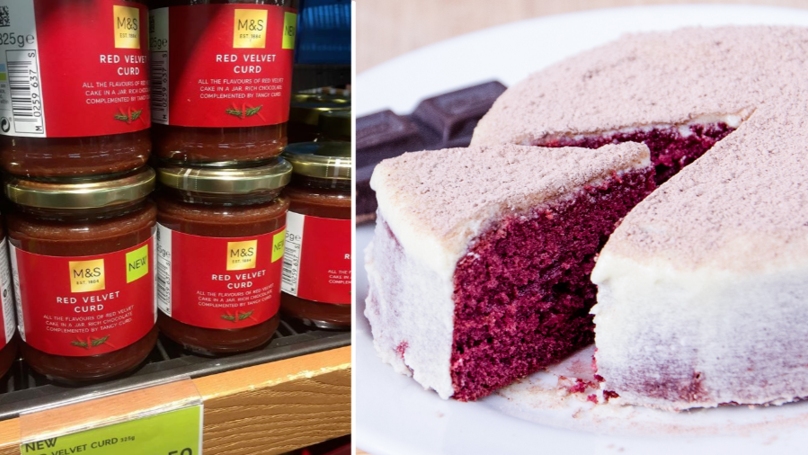 M&S Is Selling Red Velvet Cake Spread In A Jar And We Need It Immediately