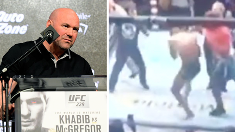 Three Members Of Khabib Nurmagomedov's Team Arrested After 'Attacking' Conor Mcgregor