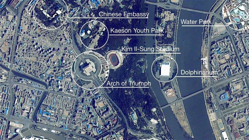 High-Definition Camera Captures Detailed Images Of North Korea From 250 Miles In The Air