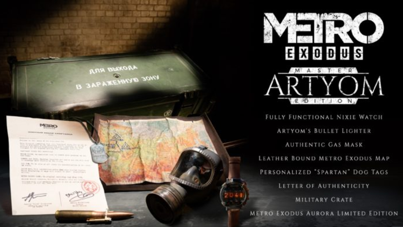 ​There's Only 10 Of This Super Rare 'Metro Exodus Artyom Edition'