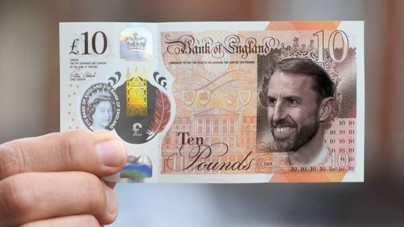 Someone Made A Petition To Get Gareth Southgate's Face On Every Single Note