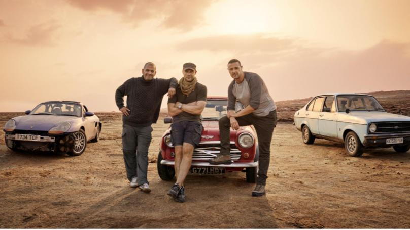 Top Gear Fans Are Loving Paddy McGuinness And Freddie Flintoff