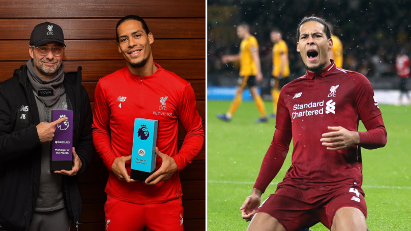 Liverpool's Virgil van Dijk Named Premier League 'Player Of The Month' For December