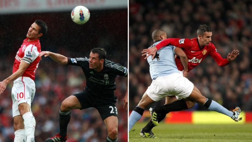 Robin van Persie Names The Two Best Defenders He's Played Against