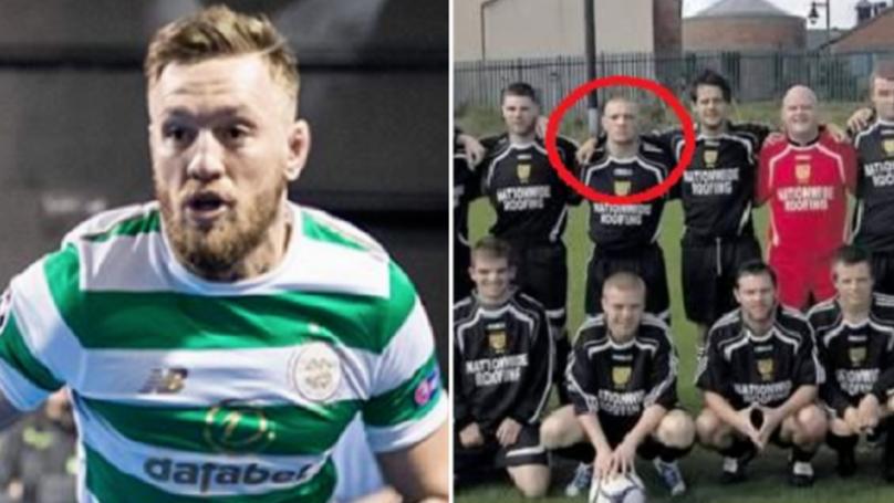 'Goal Machine' Conor McGregor's Sunday League Roots