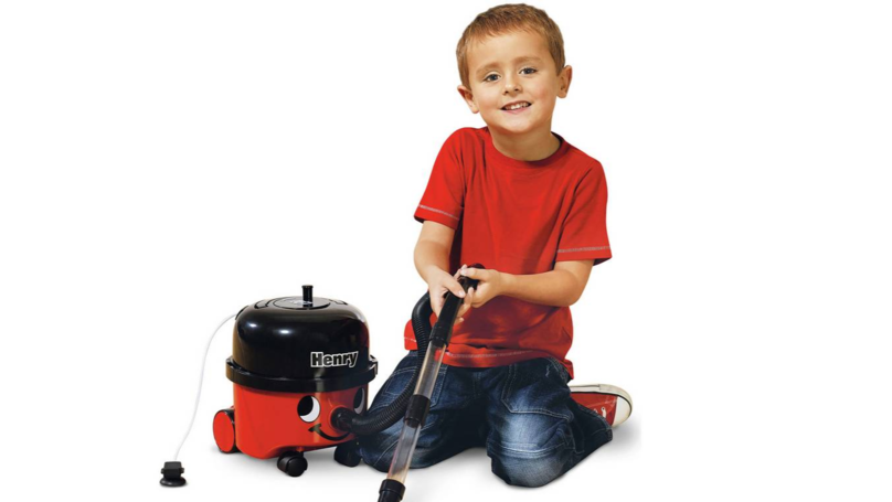 Argos Is Selling Little Henry Hoover Vacuum Cleaners For Children