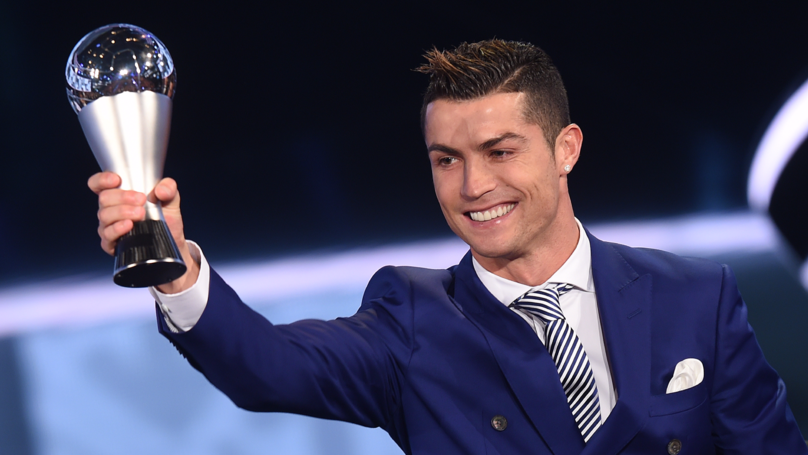 Cristiano Ronaldo Win The FIFA Best Men's Player Award