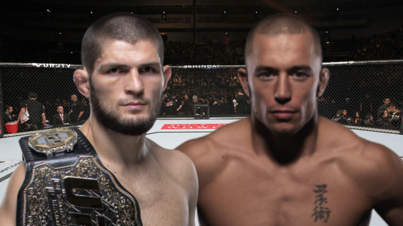 Khabib Nurmagomedov Wants UFC Mega-Fight With Georges St-Pierre In 2020