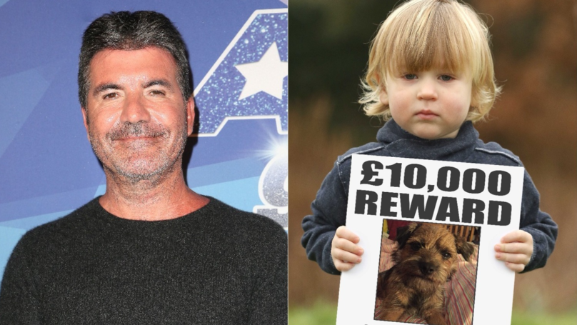 S​imon Cowell Has Offered A £10k Reward To Reunite 2-Year-Old Boy With His Stolen Dog