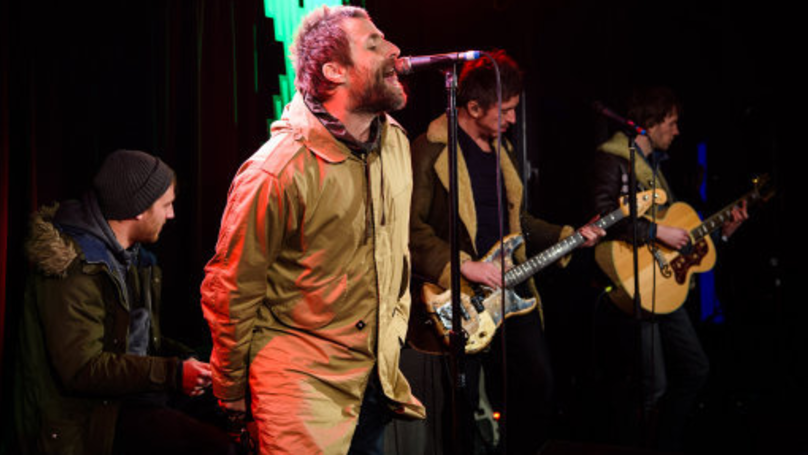 Liam Gallagher Stuns Fans By Singing While Holding The Mic At Gig