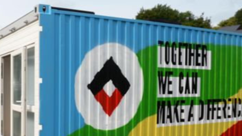 Explore The New Shipping Container Housing For Bristol's Homeless