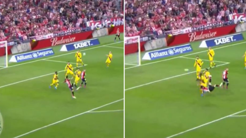 38-Year Old Aritz Aduriz Scores Outrageous Acrobatic Winner Against Barcelona