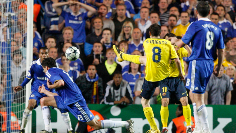 Watch: When Andres Iniesta Broke Chelsea Hearts