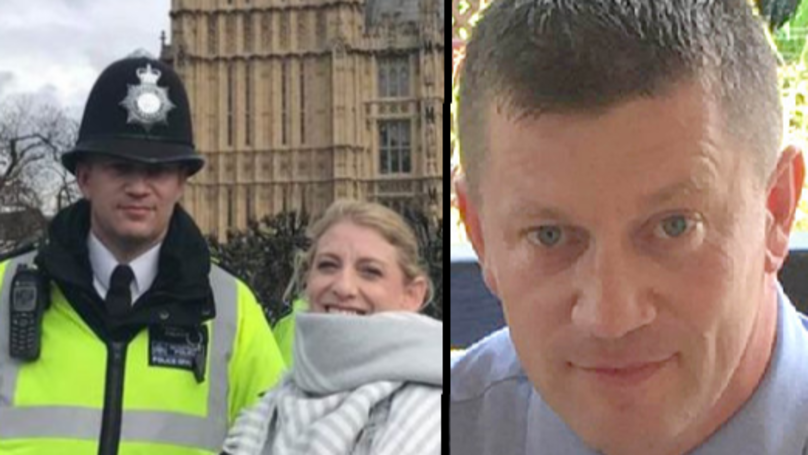 'Last Photo' Of Heroic PC Palmer Taken 45 Minutes Before His Death Emerges