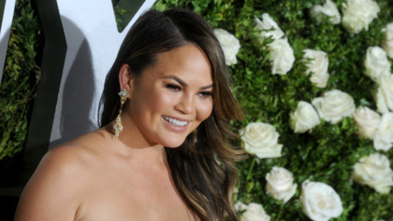 Chrissy Teigen Sparks Debate About Breaking Kids' Legs On Slides